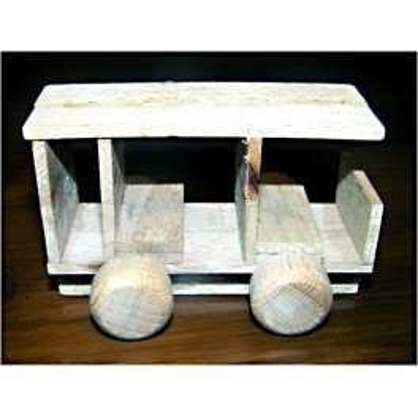 historické vozidlo - dřevěný materiál na výrobu modelů