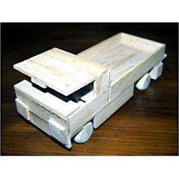 valník - dřevěný materiál na výrobu modelu