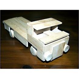 podvalník I - dřevěný materiál na výrobu model