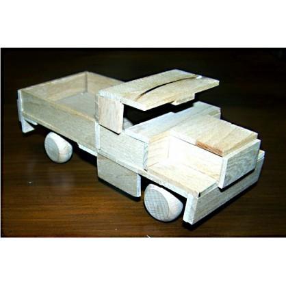 valník s čumákem - dřevěný materiál na výrobu modelů