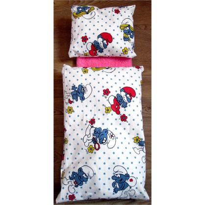 polštářek s peřinkou a matrací (ruční výroba)