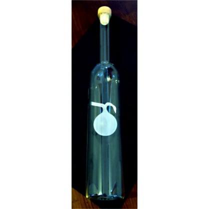 láhev 0,5 lit. s motivem - jablko matná (ruční výroba)