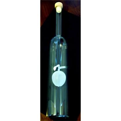 láhev 0,5 lit. s motivem - meruňka matná (ruční výroba)