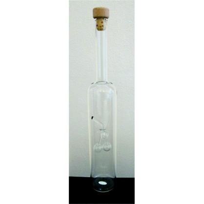 láhev 0,5 lit. s motivem - třešeň čirá (ruční výroba)