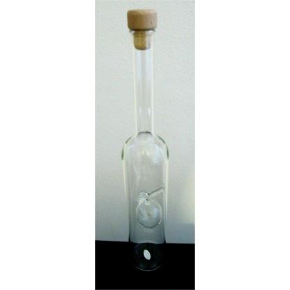 láhev 0,5 lit. s motivem - meruňka čirá (ruční výroba)