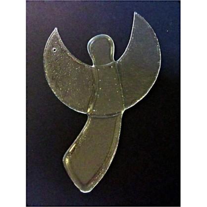 anděl - velký (čiré sklo)