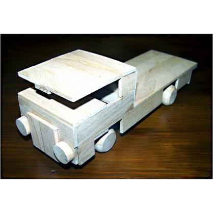 valník - dřevěný materiál na výrobu modelů
