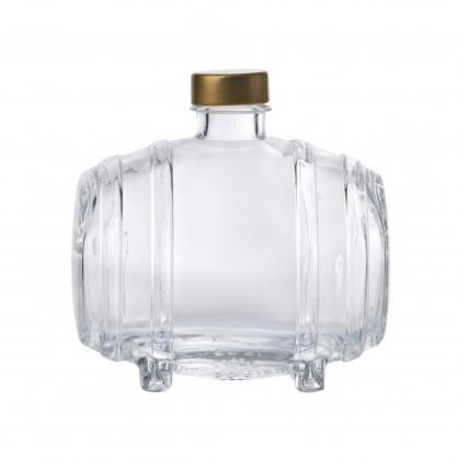 láhev 0,5 litru soudek - lisované sklo