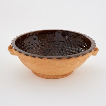 kulatá forma na chleba (ošatka) - kameninová forma na chleba (ruční výroba)