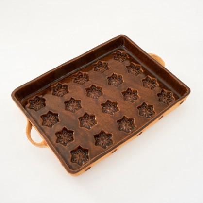 buchtovník - kameninová forma na buchty (ruční výroba)