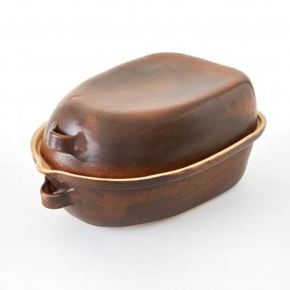 husak - kameninový pekáč na husu (ruční výroba)
